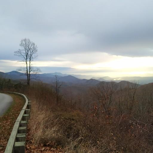 הנוף בדרך. היה מרשים יותר במציאות (:
