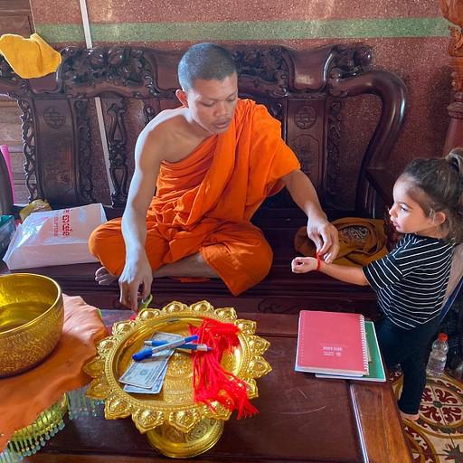 פגודה בודהיסטית על הטיילת