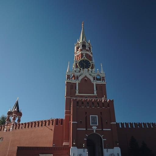 מגדל ספאסקאיה- מבט מהכיכר האדומה