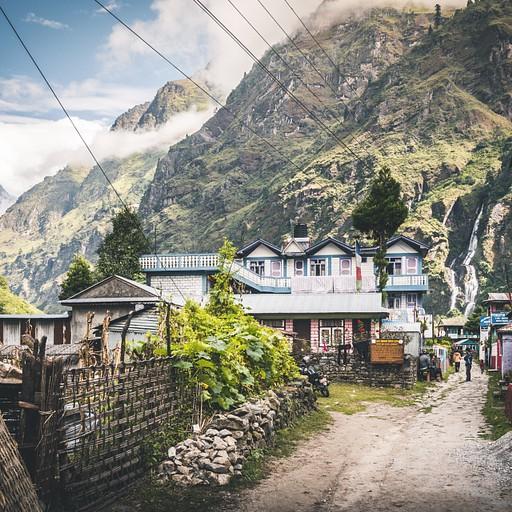 הכפר טל יושב באחד האזורים הכי יפים של תחילת המסלול