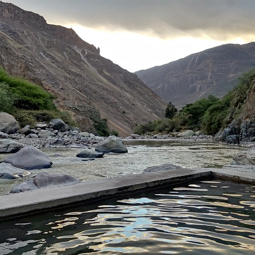 מעיינות חמים על הנהר