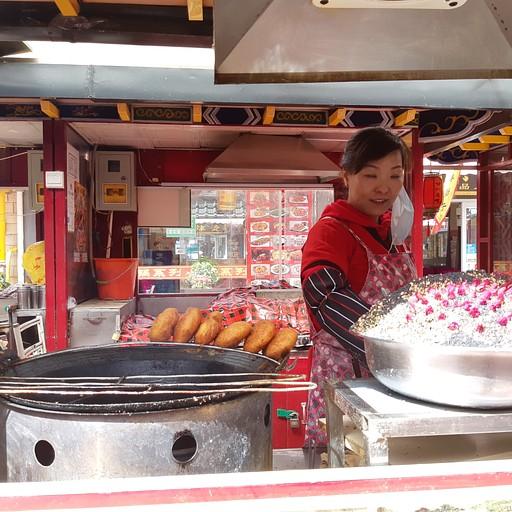 דוכן בשוק האוכל