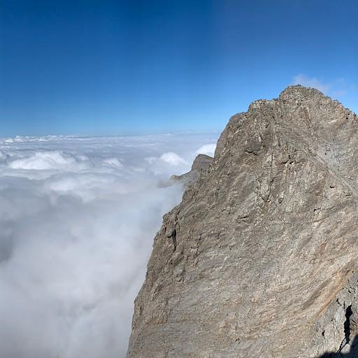 הנוף לפסגה מיטקאס מפסגת סקאלה
