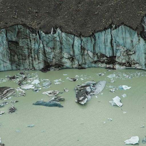 תצפית על קרחון הtasman