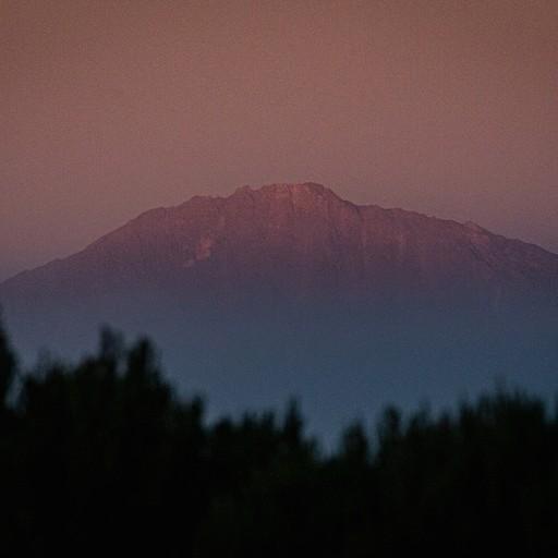 הר הקילימנג'רו בזריחה