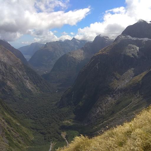 Getrude Saddle, Fiordland