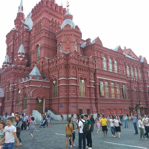 הכיכר האדומה במסקבה