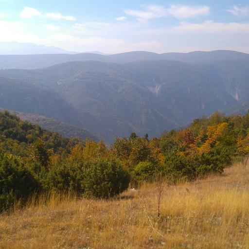 הנוף במהלך המסלול