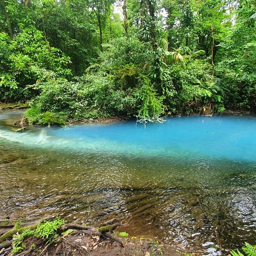נהר ריו - סלסטה Rio Celeste