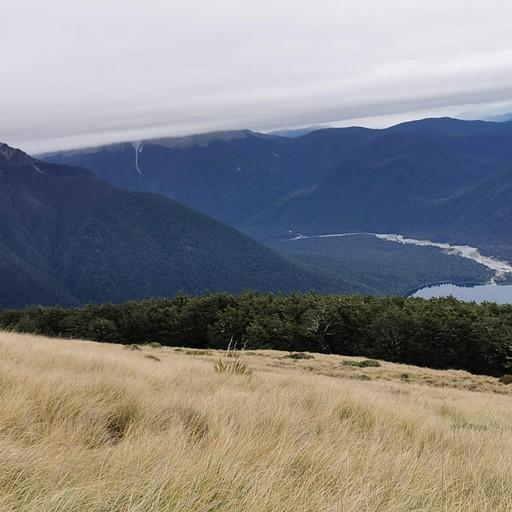 העמק ממערב ל- Sabine