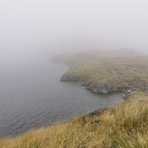 אגם Angelus בערפל