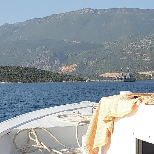 חלק מהדרך, חזרה בסירה ל- KAS