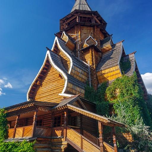 שחזור מדהים של כנסייה רוסית מימי הביניים