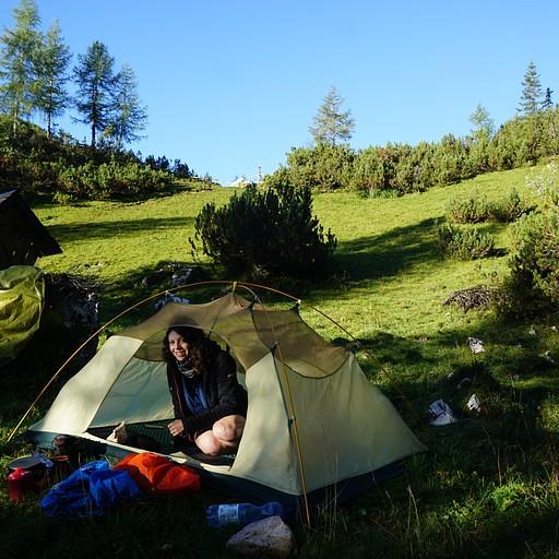 מקום טוב להניח את האוהל בסוף היום