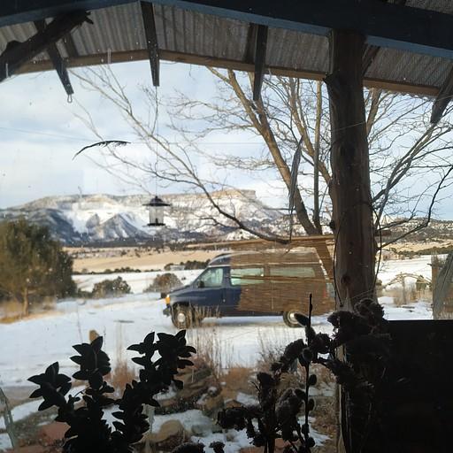 הזוג מקולורדו. הנוף מהחלון- פארק לאומי מסה ורדה