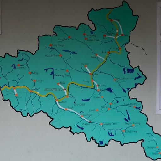 מפה טובה שמצאנו של עמק קינור