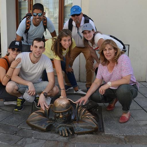 משפחת חבצלת ואני (התמונה צולמה בברטיסלאבה)