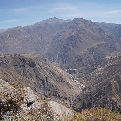 נוף העמק הנשקף מעמדת הבידוק אחרי היציאה מהכפר