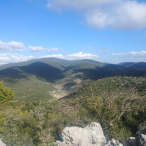 הנוף מפסגת הר פקיעין