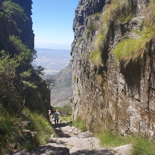 בדרך לפסגת הר השולחן