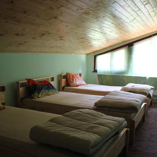 החדר שלנו בבקתת סקקביצ'ה