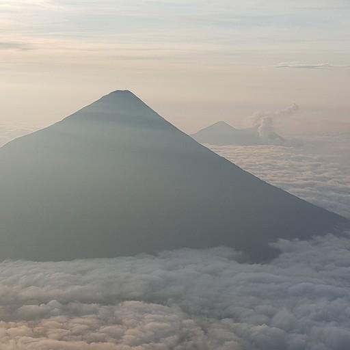 טרק להר געש אקטננגו, ACATENANGO - בפיסגה