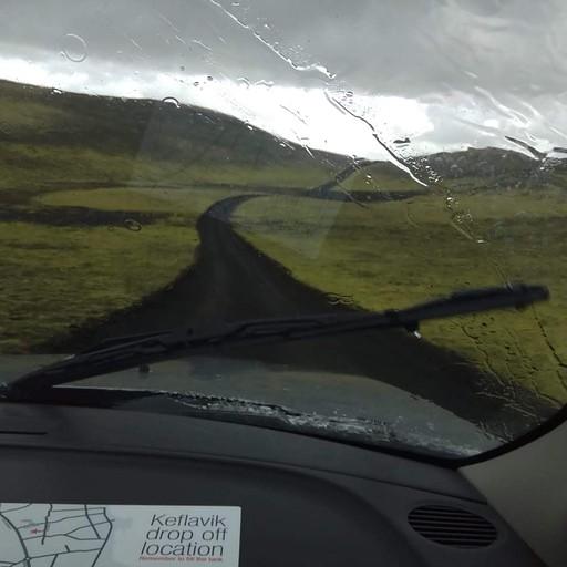 הדרך חזרה מלאקי בגשם