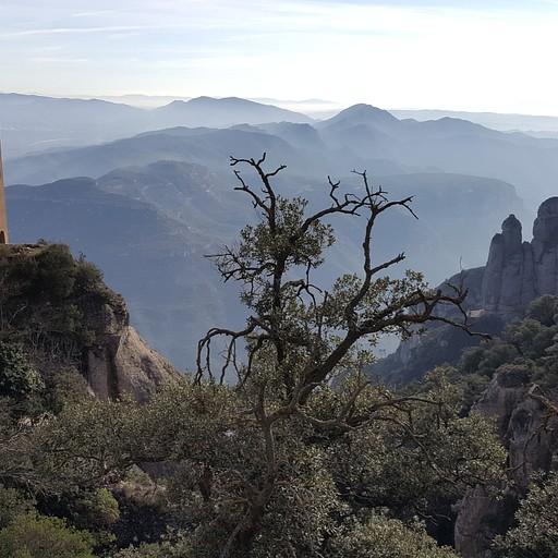 רכס ההרים מונסרט Montserrat