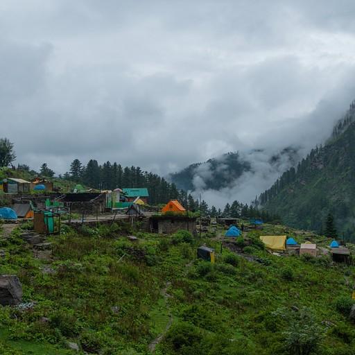 מחנה האוהלים בקירגנגה