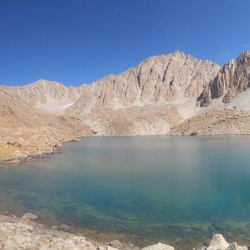 אגם damjailoo העליון (הרביעי למניין האגמים שספרתי, לא כולל הקטן)