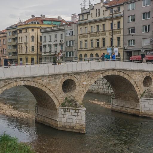 הגשר הלטיני לידו נרצח הנסיך פרנץ פרדיננד
