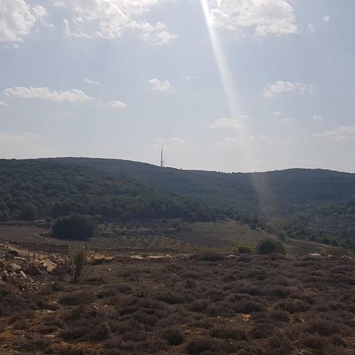 נוף לכיוון הר הלל