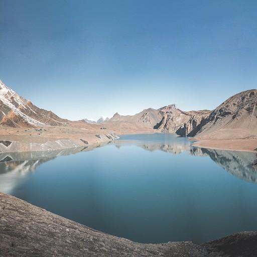 אגם טיליצ'ו, פחות לבן ממה שזכרתי בתמונות