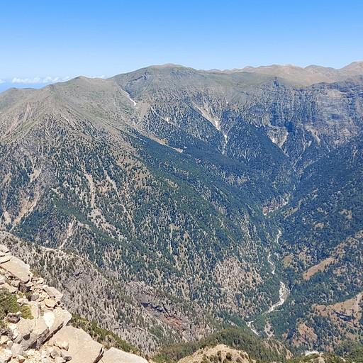 קניון סמריה וההרים הלבנים