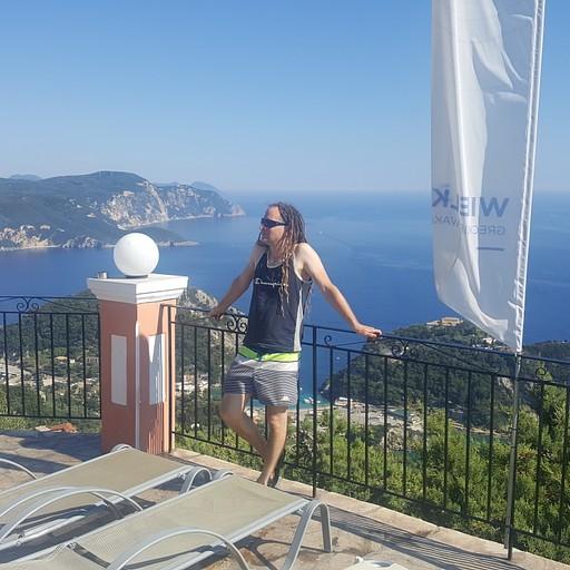 תצפית ממרפסת בלה ויסטה על פלאוקוסטריצה