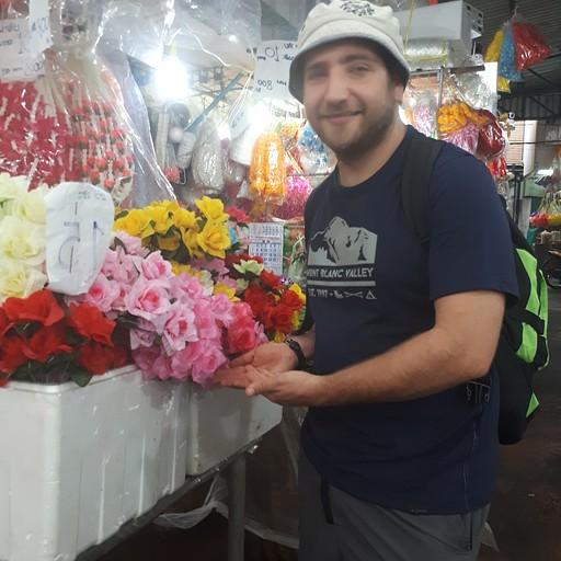 שוק פרחים