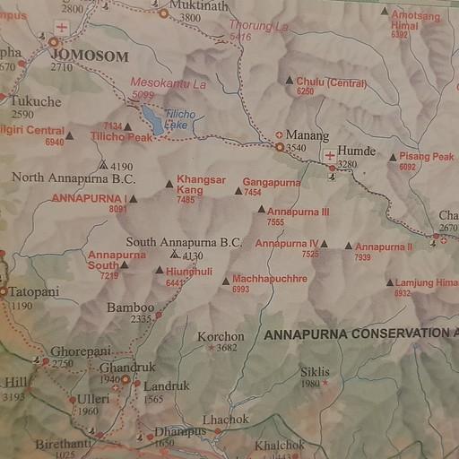מפת הטרק