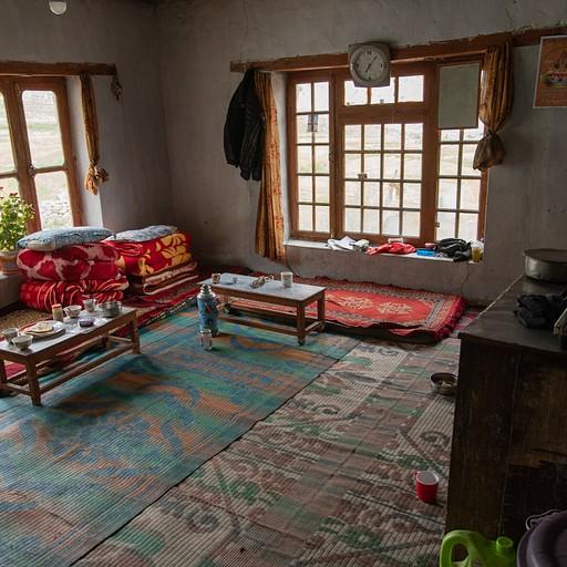 מטבח וסלון בית המשפחה
