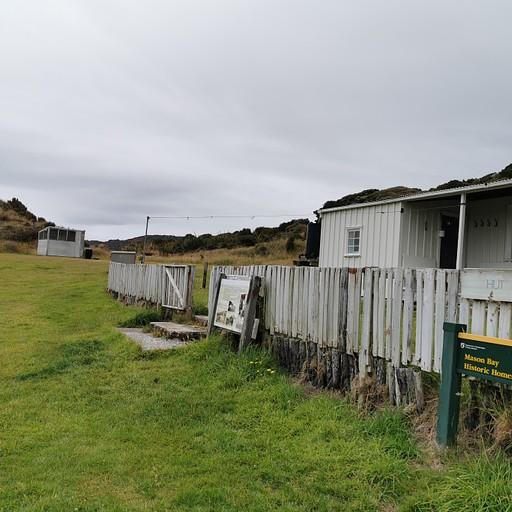 שרידי החווה ב- Mason Bay