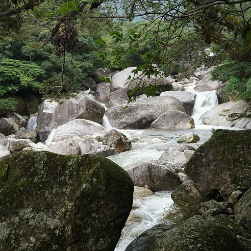 בדרך למפל ג'אנוקוצ'י