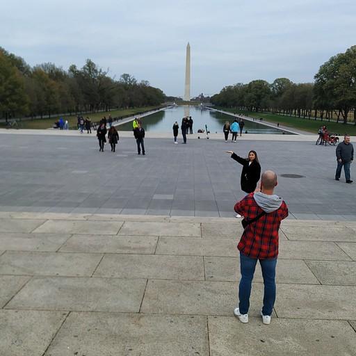 אנדרטת וושינגטון מאנדרטת לינקולן