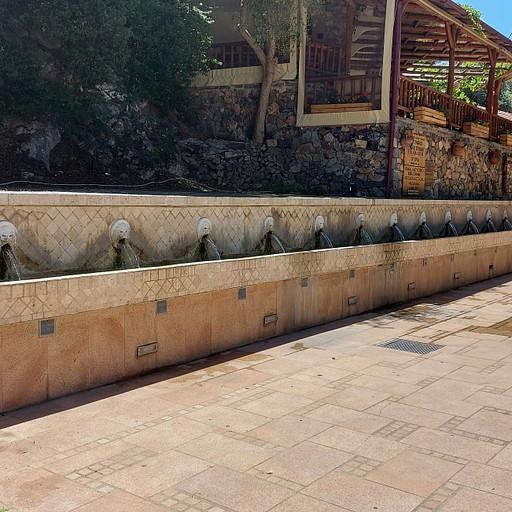 Spili lion fountain