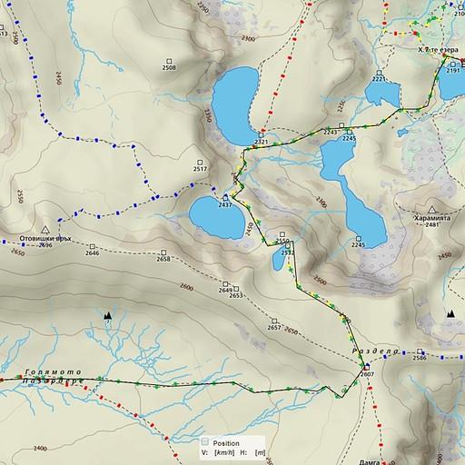 יום ב'  *אנחנו נצמדנו למסלול הצהוב ירוק (פנייה שמאלה באגם הרביעי), ממליצים גם לכם.