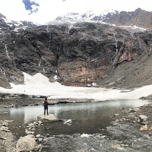האגם הקפוא