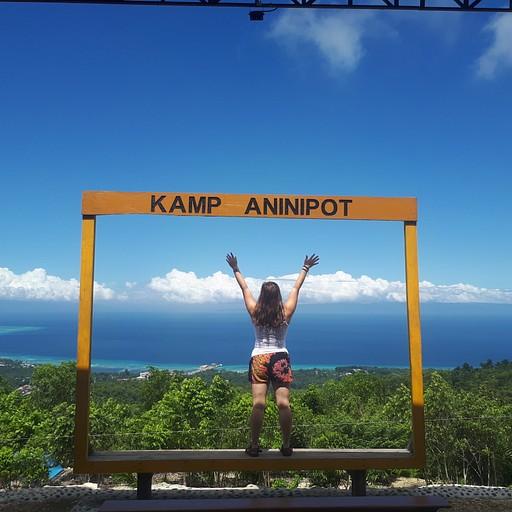 הנוף מההוסטל kamp aninipot