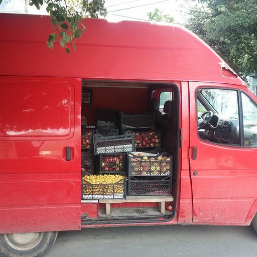 חנות פירות ממונעת
