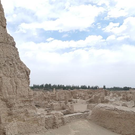 jiaohe- מה שנשאר מהעיר העתיקה