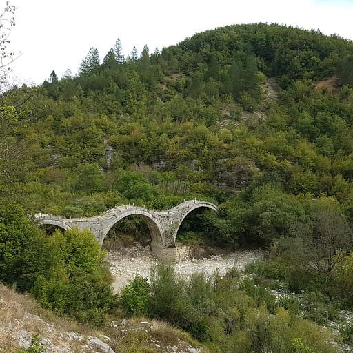 הגשרים של Kipoi - גשר Plakidas