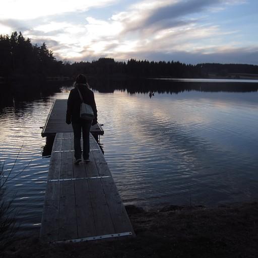 האגם Lac de Devesset