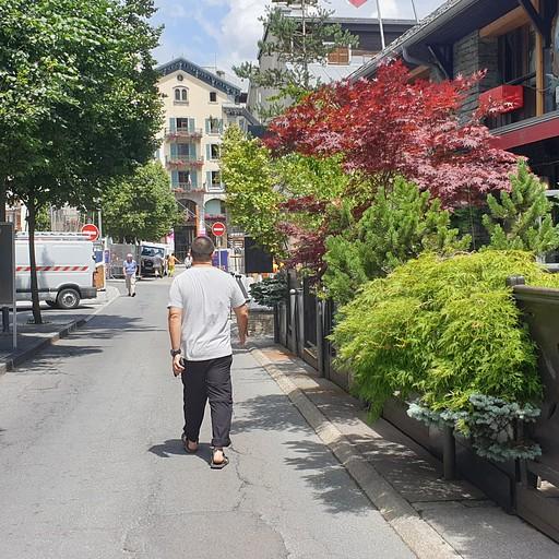 רחוב טיפוסי בשאמוני